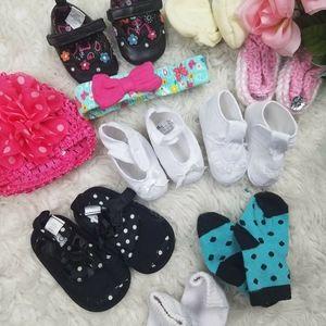 10 PC baby girl bundle